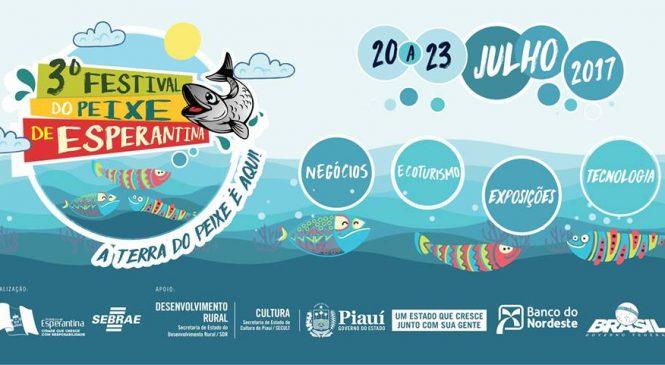 Lançamento do III Festival do Peixe será nesta segunda