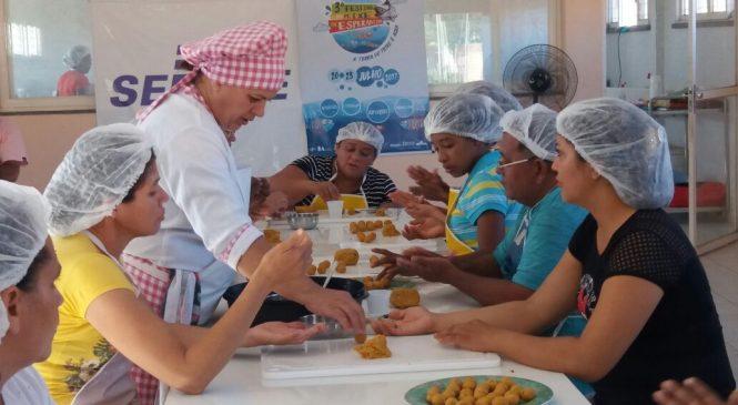 Sebrae realiza curso de gastronomia a base de peixe em Esperantina