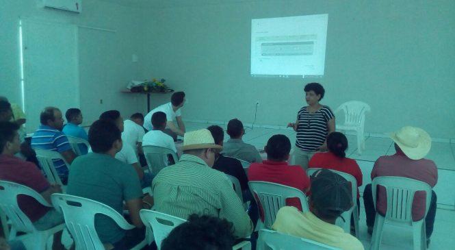 Piscicultores do território dos cocais se reúnem técnicos do governo do estado