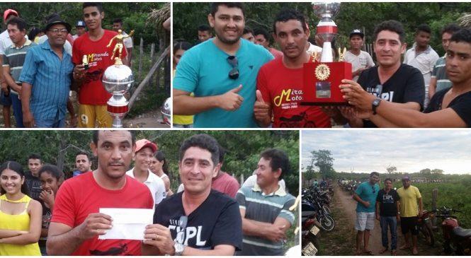 Marajá conquista o título do campeonato do Jacaré da Vermelha