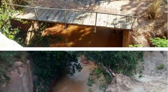 Polícia investiga desaparecimento de ponte em cidade no interior do Piauí