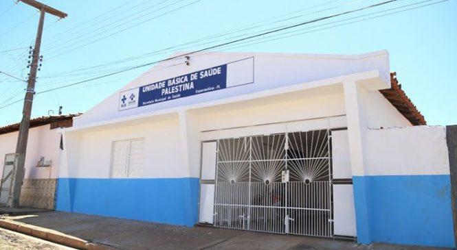 17 unidades básicas de saúde estão sendo reformadas em Esperantina