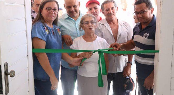 Nova sede da unidade básica de saúde do bairro Chapadinha foi entregue nesta manhã
