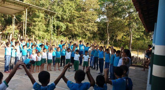 Escolas da Rede Municipal de Esperantina realizaram atividades em homenagem ao dia do estudante