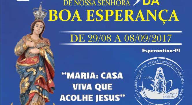 Começa nesta terça (29), os festejos de Esperantina