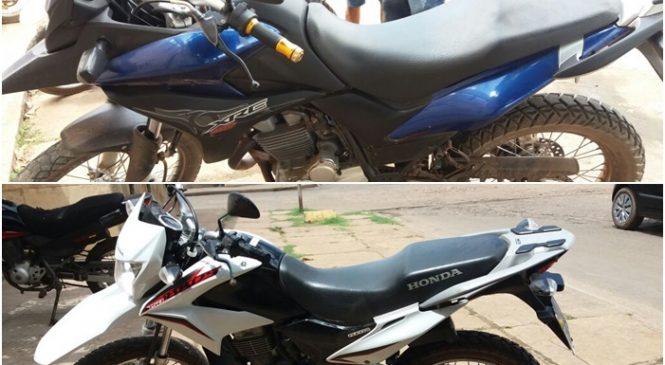 Após troca de tiros com bandidos polícia recupera duas motos roubadas