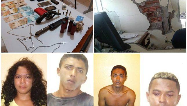 Polícia desarticula quadrilha que explodiu agência dos correios em Porto