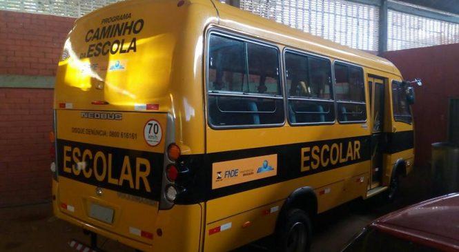 Prefeitura de Esperantina adquiri novo transporte escolar