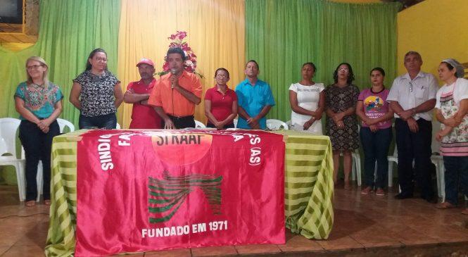 Prefeita Vilma Amorim participa das festividades de aniversário do sindicato de trabalhadores rurais