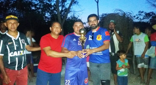 Equipe do Água Mineral conquistou o título do campeonato do Loia
