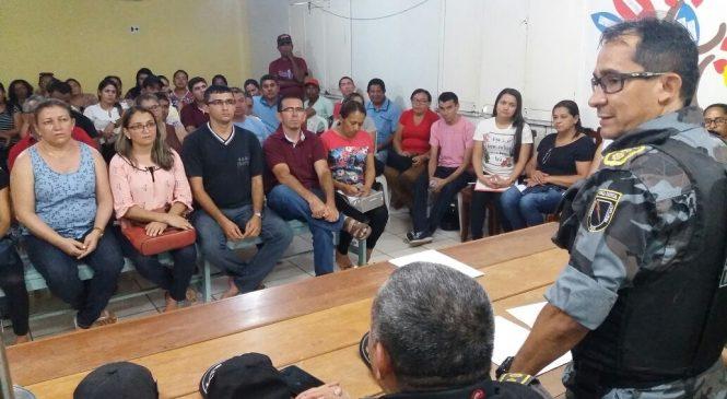 Forças de segurança e prefeitura garantem retorno das aulas nesta terça