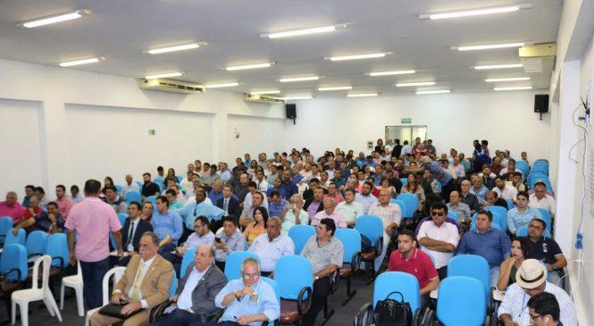 Prefeito Marcos Henrique participou de reunião com a bancada federal na APPM