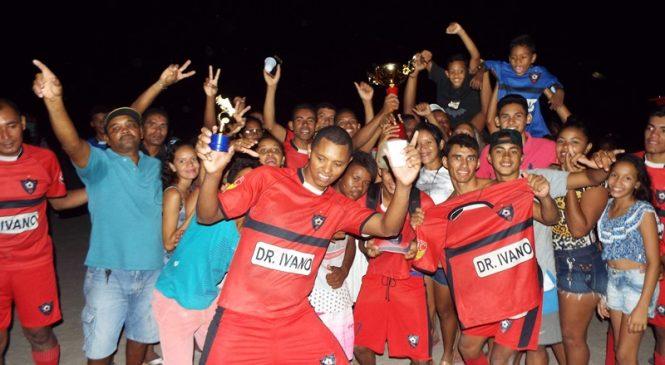 Água Mineral conquista o título do campeonato da Lagoa dos Macacos