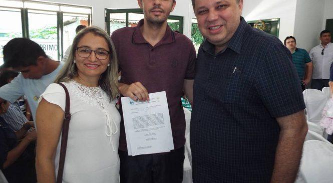 Prefeita Vilma Amorim, solicita renovação da frota do samu de Esperantina