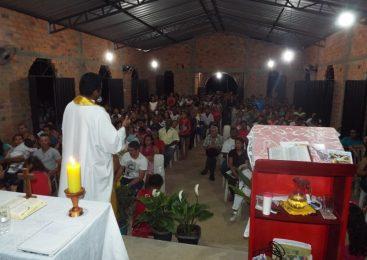 Prefeita Vilma Amorim participa do encerramento dos fetsejos de Todos os Santos
