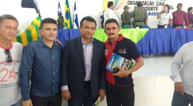 Domingos Luiz participou do 1º Fórum sobre segurança pública em Cocal