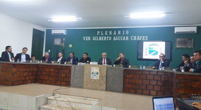 Aluno da escola Maria Pinheiro vence concurso para escolha do simbolo do Brasão e da Bandeira da Câmara