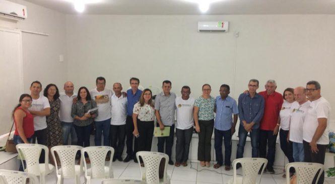 Prefeita Vilma Amorim, participou de encontro do Progere em Esperantina