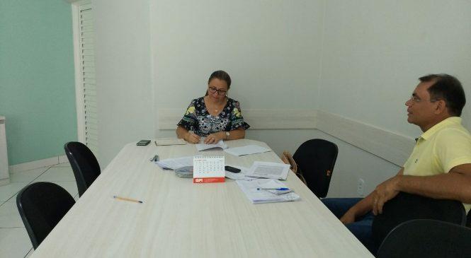 Prefeita Vilma Amorim assina convênio com a Funasa para melhorias sanitárias