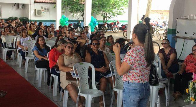 Semana pedagógica abre o período letivo em Esperantina