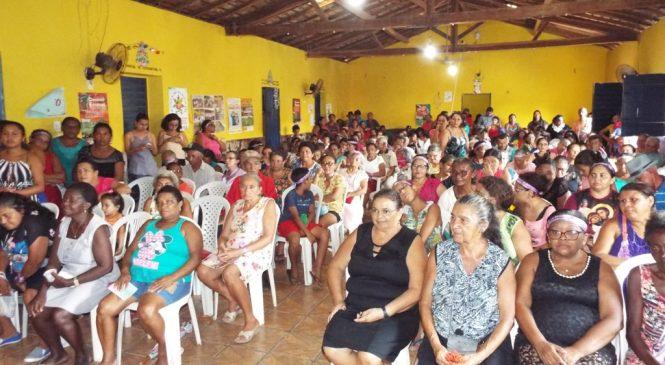 Mulheres de Esperantina comemoram o dia internacional da mulher