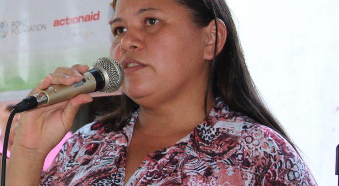 Ato solidário de apoio à coordenadora geral do MIQCB, Francisca Nascimento, será realizado em São João do Arraial