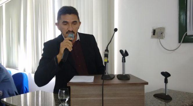 Vereador Domingos Luiz solicita que prefeitura de Esperantina celebre convênio com a polícia