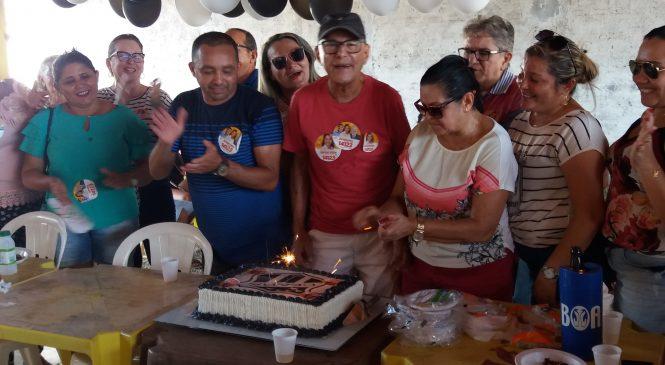 Vereador e comerciante comemoram aniversário juntos
