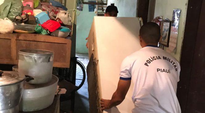 86 famílias em Esperantina são afetadas com as águas do rio Longá