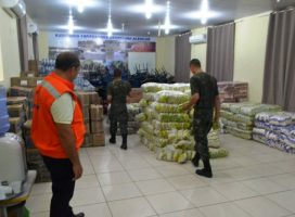 Estado envia ajuda humanitária para Esperantina e mais seis cidades