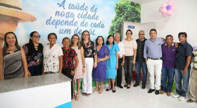 Prefeita Vilma Amorim inaugura centro de especialidades odontológicas
