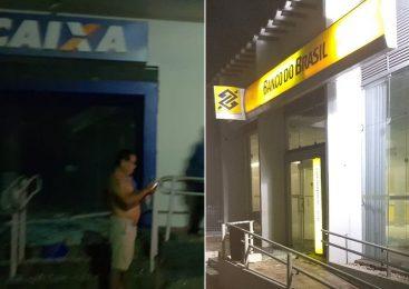 Grupo com mais de 15 homens explodem agências bancárias em Piracuruca