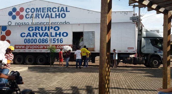 Prefeitura de Esperantina realiza parceria com comercial Carvalho