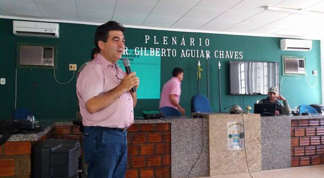 Deputado Limma participa de aula inaugural do pelotão Mirim em Esperantina