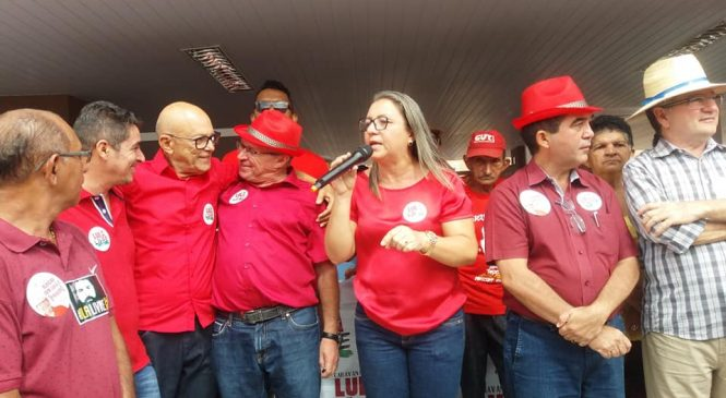 Caravana Lula Livre percorre cidades do território dos cocais
