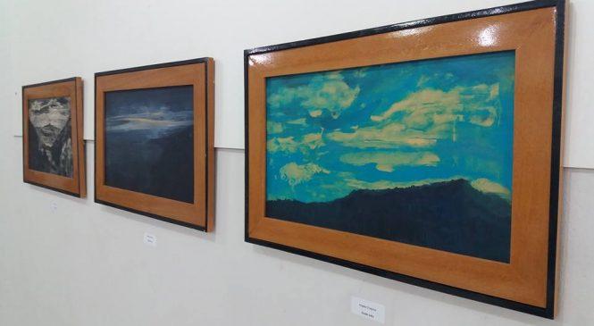 Artistas italianos fazem exposição de pinturas em Esperantina