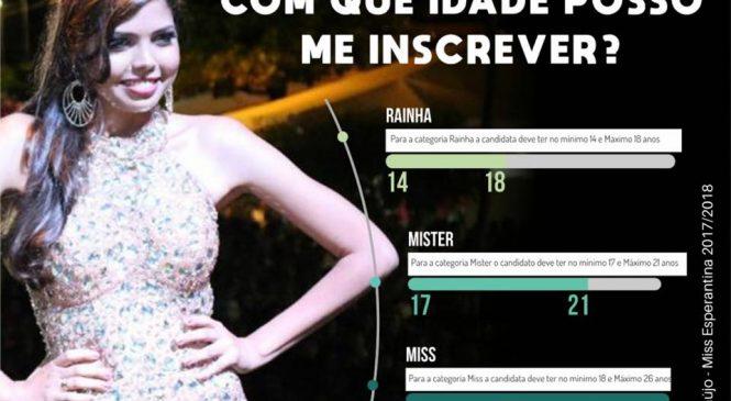 Abertas as inscrições para escolha da Rainha, Miss e Mister do festival do peixe