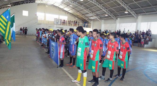 Dois jogos abrem a 4ª edição do intercolegial de futsal