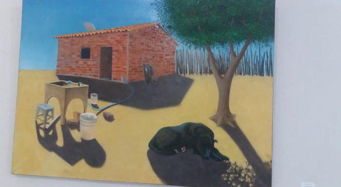 Esperantina pintada em quadros por artistas Italianos