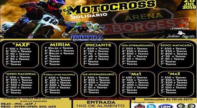 Abertura do Campeonato Piauiense de Motocross 2018 será em Esperantina