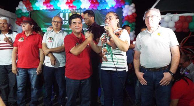 Confira como foi  lançamento da candidatura a reeleição do deputado Limma