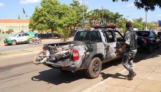 Polícia apreende moto utilizada em assalto em Esperantina