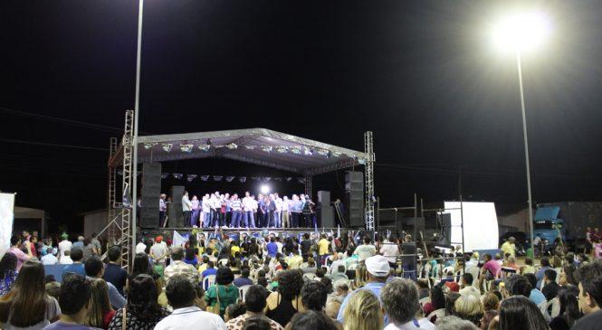Themistocles Filho e Marcos Aurélio lançam candidaturas em Esperantina