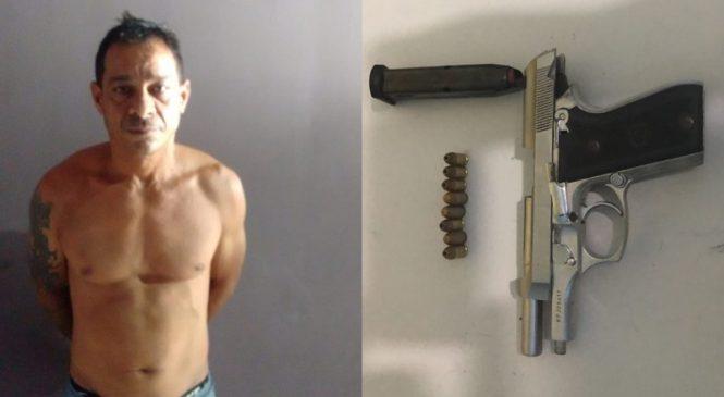 Suspeito de assaltar casal que saía de farmácia é preso pela polícia