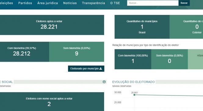 Esperantina tem mais de 28 mil eleitores segundo o TSE
