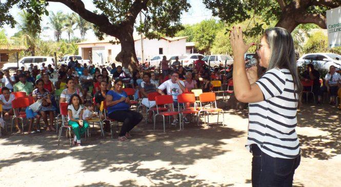 Prefeitura de Esperantina leva serviços de saúde, educação e assistência social a comunidade