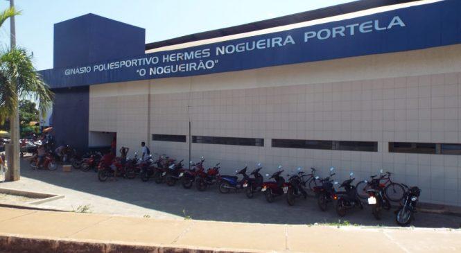 Segundo maior ginásio poliesportivo do Piauí é aberto a população