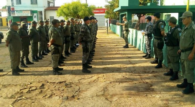 50 Militares Atuarão nas Eleições em Esperantina e Morro do Chapéu