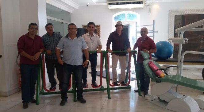 Deputado Limma leva academias de saúde para os municípios de Cabeceiras e Marcolândia