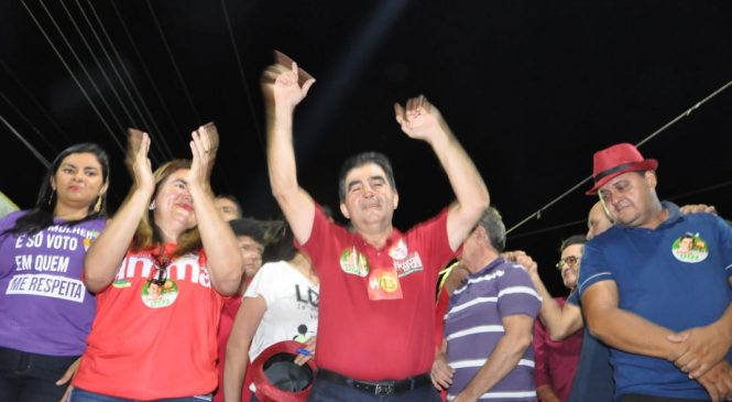 Deputado Limma encerra atividades de campanha em São João do Arraial